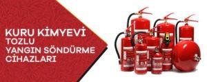 Kuru Kimyevi Tozlu Yangın Söndürme Cihazları